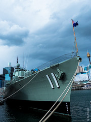P1150345 (Pursuedbybear) Tags: sydney sydney2016 darlingharbour australiannationalmaritimemuseum hmasvampire destroyer royalaustraliannavy