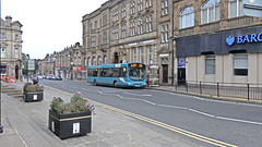 Arriva Bus 1107 at Morley Town Centre. (ManOfYorkshire) Tags: arriva westyorkshire leeds route221 wright volvo b7rle eclipse morley