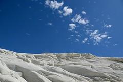 (Giramund) Tags: italy sicily scaladeiturchi sea white sandstone sky clouds