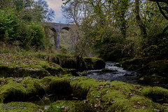 Pontsarn Viaduct (parry101) Tags: south wales landscape water outdoor long exposure taf fechan nature trees merthyr tydfil blue pool pontsarn viaduct