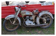 Motobcane / motoconfort (baffalie) Tags: old milan classic bike vintage italia expo retro motorbike moto italie ancienne fiera classicas