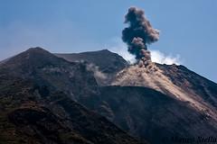 Stromboli Eruption (MatteoStella12) Tags: sea summer italy island volcano italia ash sicily volcanic eruption sicilia vulcano eolie stromboli aeolian isola isole eruzione