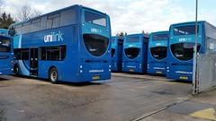 Unilink (PD3.) Tags: park uk england bus buses ahead go group hampshire 400 link barton uni alexander dennis enviro psv pcv adl eastleigh hants unilink 1566 goahead hj63jnx hj63jky 1549hj63jnl hj63jo