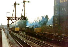 37165 and 37285 Taffs Well (Buzz688) Tags: old tree 1969 home up wales way print pier office big dock december 5 south main 4 hill sunday walnut tracks railway trains down demolition junction well led relief signals valley barry scanned 1967 welsh coal siding 1986 per demolished quarry 1973 chepstow freight services semaphore wagons 1963 resources dolomite aber a470 1901 rhymney stored ceased taffs 37165 37285 mabeys