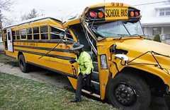 Triad School District bus accident. Champaign County, OH. 3.24.11 (dfirecop) Tags: school bus crash accident wreck dfirecop
