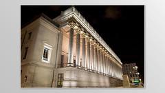 """24 Colonnes """" Palais de justice"""" (Nans....974) Tags: de justice lyon palais 24 105 nuit mn colonnes lumre"""