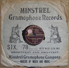 minstrel sleeve FOR six, 78 (six78disco) Tags: cindy john drums orlando chad guitar mary seven susie loopy q six 78 eight greer lue 678 loopie lupie mclenaghan