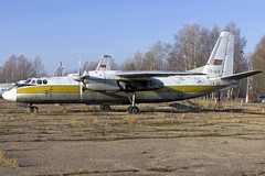 AN24_TZ-ACK_AirMali_OffAirport (inal.khaev) Tags: russia offairport an4 fbd airmali egoryevsk