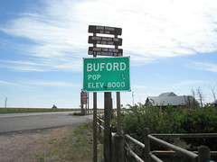 Buford, Wyoming, Pop. 1 (J. Stephen Conn) Tags: wyoming wy buford albanycounty