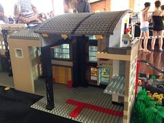 16 Lake St (coghilla) Tags: road city trip roof lego expo townhouse roadtrip modular custom curved residential bundaberg lug moc brickevents jan2015 qlug