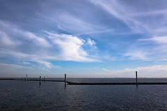 Harbour with blue sky (martinstelbrink) Tags: sky germany island harbour himmel bluesky insel northsea ostfriesland gr nordsee ricoh ricohgr blauerhimmel baltrum niedersachsen lowersaxony eastfrisia ricohgrv mygr