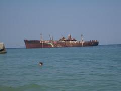 Epava de la Costinești (Bogdy89) Tags: sea black romania wreck marea evanghelia costinesti neagra dobrogea epava