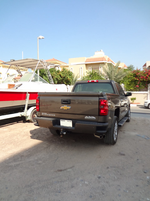 brown chevrolet high country uae silverado