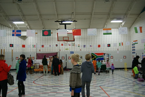 Family Heritage Night at Moorsbridge Elementary School