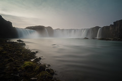 Goðafoss (Subversive Photography) Tags: longexposure nature beautiful landscape waterfall iceland rocks conversion scenic christian nd alþingi sagas godafoss heathen tiffen goðafoss 1000ad sonya7r