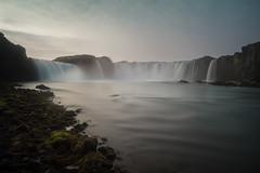 Goafoss (Subversive Photography) Tags: longexposure nature beautiful landscape waterfall iceland rocks conversion scenic christian nd alingi sagas godafoss heathen tiffen goafoss 1000ad sonya7r