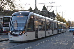 Edinburgh Trams 274 (Will Swain) Tags: city uk travel november bus buses scotland edinburgh britain centre capital north transport scot northern trams 23rd 274 lothian 2014