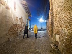 streetChieri2014_PC303191 copia (stegdino) Tags: light yellow night giallo behind notte chieri herowinner