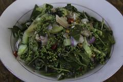 Noam sdao (Keith Kelly) Tags: city food vegetables salad asia cambodia seasia southeastasia cambodian dish capital plate eat phnompenh kh aroundtown kampuchea quinine khmerfood siameseneemtree azadirachtaindicavarsiamensisvaleton noamsdao