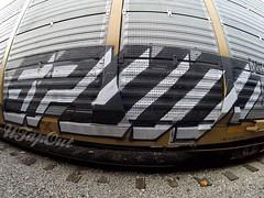 SPUN (UTap0ut) Tags: california art cali train bench graffiti los paint angeles rail socal cal freight utapout