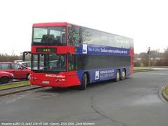 04-63 (UN-VK 345) Grevel [U] (B100S) Tags: bus lnen dortmund kamen neoplan doppeldecker vku schnellbus