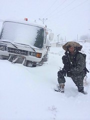 Snow Storm in Israel January 2015 (Israel Defense Forces) Tags: winter snow israel snowman jerusalem soldiers idf snowcat idfsoldiers northernisrael israeldefenseforces homefrontcommand