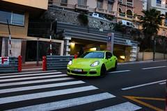 Porsche Panamera Hybrid (MonacoFreak) Tags: summer cotedazur montecarlo monaco porsche hybrid luxury supercar 2014 frenchriviera panamera topmarques