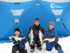 Wm A Switzer PP - Family Ice Fishing (Alberta Parks) Tags: winter family fishing ice icefishing catch pike snow people group fun williamaswitzer switzer alberta canada