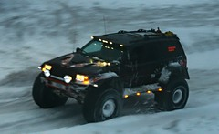 KISI (Brynja Eldon) Tags: mountain snow iceland jeep grand adventure cherokee v8 sland 52 snjr lifted fjll jeppafer jeppi