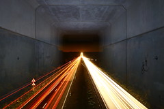 2.1.0 (quornflake) Tags: longexposure light lightpainting cars night traffic doubleexposure trails tunnel lenscap