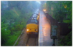37610 TnT 37601 1Q14 Heath Low Level (Buzz688) Tags: test train dock low cardiff junction via alexandra level heath passenger penarth coryton 2013 1q14 monsoon37610tnt37601