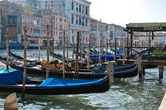 Ormeggio (federicomazzini5) Tags: venice colorful italia colours laguna venezia colori gondole