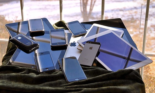 the iOS family pile (2015) by blakespot, on Flickr