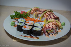 """Sushi Night • <a style=""""font-size:0.8em;"""" href=""""http://www.flickr.com/photos/92159645@N05/16234685065/"""" target=""""_blank"""">View on Flickr</a>"""