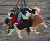 Dogs (Canteiro de Ideias) Tags: dog handmade artesanato craft decor decoração chaveiro cachorrinho