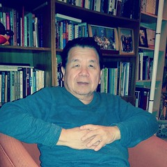 Dr. Hsu at home