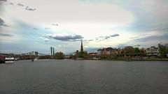 #ffm #frankfurt #germany #main #river #church #ezb (Fatah Gonzales) Tags: church river germany frankfurt main ffm ezb