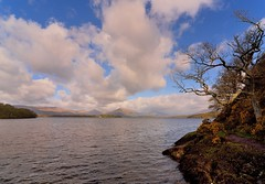 On the bonnie bonnie banks of Loch Lomond... (richbriggs28. Love being a grandad :)) Tags: scotland loch lomond richbriggs28
