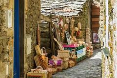 Handicrafts at Piodo (Alfredo Mateus Photography) Tags: wood portugal souvenirs village crafts wicker handicrafts piodo shale schist wickerbasket