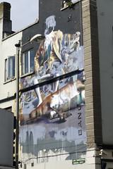 Wall art in Dublin. (piktaker) Tags: ireland dublin streetart art graffiti paint wallart eire spray roi republicofireland