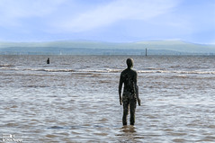 Iron Men Crosby Beach 14th May 2016 1 (Bob Edwards Picture Liverpool) Tags: men beach liverpool iron anthony gormley crosby