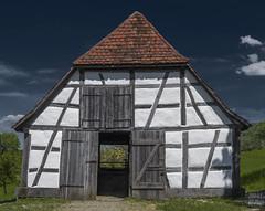 Old Sheepfold of Schlaitdorf (KF-Photo) Tags: barn openairmuseum fachwerk fachwerkhaus kontraste beuren schafstall scheuer freiluftmuseum schlaitdorf
