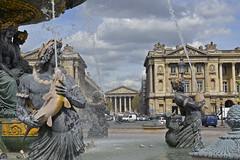 2016.04.14.047 PARIS - Place de la Concorde, fontaine des fleuves (alainmichot93) Tags: paris france statue seine architecture nikon ledefrance place rue fontaine glise placedelaconcorde jetdeau rueroyale lamadeleine 2016 fontainedesfleuves