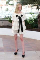 Elle-Fanning-Cannes-Film-Festival-2016-Red-Carpet-Fashion-Chanel-Couture-Cool-Chic-Style-Fashion-Site-3 (Cool Chic Style Fashion) Tags: white fashion style hautecouture chanel redcarpet minidress lacedress ellefanning romanticstyle giambattistavalli styleinspiration cocktailsdress