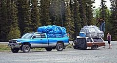 Casualties of bad economy . . . (JLS Photography - Alaska) Tags: people alaska truck moving sad outdoor photojournalism economy alaskalandscape badeconomy jlsphotographyalaska