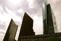 skyscrapers (sz1507) Tags: sky berlin architecture three skyscrapers potsdamerplatz renzopiano architettura berlino grattacieli