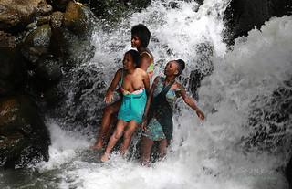 Petite douche au chute d'Awassa -  Ethiopie