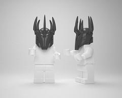Sauron (Dot San) Tags: lego halo batman lordoftherings custom minifigures minifgure