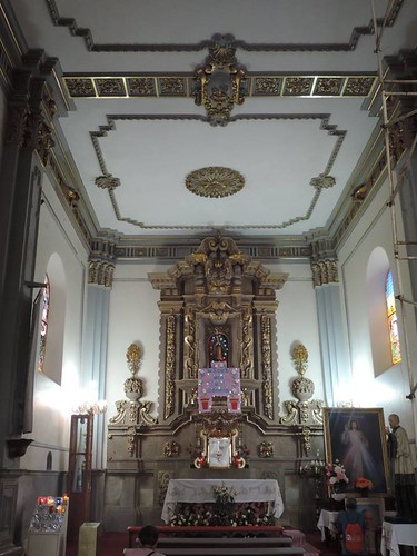 Capilla del Sagrario, Templo de San Lucas Evangelista, Iztapalapa, Cdad. de México, CDMX.