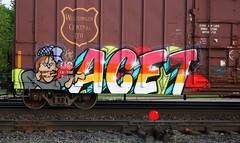 ACET, Byrd, Neenah, 30 May 16 (kkaf) Tags: graffiti byrd neenah acet